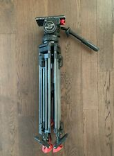 Used Sachtler VIDEO 20 III + HD Carbon Fiber Tripod with 100mm ball adapter