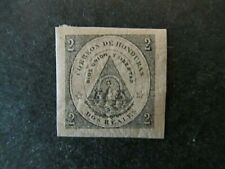 HONDURAS, COAT of ARMS of HONDURAS, 2 REAL, PINK, MINT