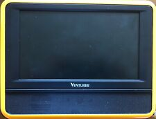 """Small TV; Venturer- 7"""" inches, New with Box. Black"""