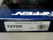 "New 4x5.65"" Tiffen Pro-Mist 1/2 Glass Filter Promist #45650PM12 Filters PV Size"