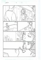 ORIGINAL ART PAGE OF THE AVENGERS WASP BY CRAIG ROUSSEAU HER-OES #2 PAGE #6