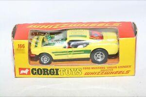 Corgi 166 Ford Mustang Dragster, Good Condition in Original Box