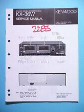 Instrucciones Manual de servicio para Kenwood kx-36w, original