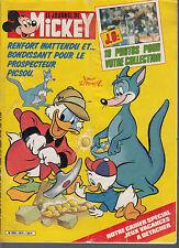 Journal de Mickey n°1674 année 1984