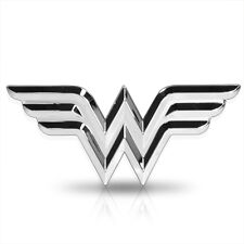 Wonder Woman 3D ABS Chrome Metal Car Auto Emblem