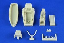 KASL Hobby 1/48 F-35A Lightning II Cockpit Upgrade resin set for Kitty Hawk