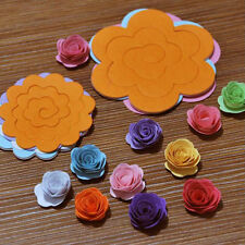 Rainbow paper flower origami material 11 color flower Yan paper