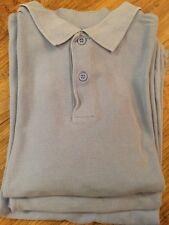 3 x Unisex short Sleeved Blue School Polo Shorts Aged 11yrs By TU