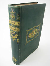POETICAL WORKS of William Cullen Bryant POETRY Household Ed. POEMS 1879 Antique