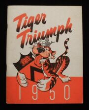 >orig./Rare!! 1951 Princeton Tigers **TIGER TRIUMPH** Football Yearbook 9-0!!!