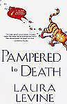Pampered to Death Hardcover Laura Levine