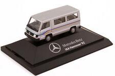 1:87 Mercedes-Benz 100D II Bus silber Nutzfahrzeug-IAA Hannover 92 1992 - Herpa