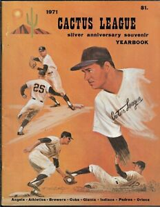 1971 Cactus League 25th Anniversary Yearbook RARE BEAUTY!!