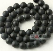 15.5''Strand Healing Reiki 8mm Natural Onyx Gemstone Round Loose Beads Spacer