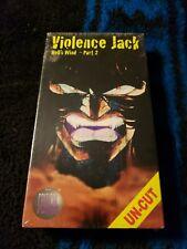 violence jack vol 2 Hells Wind vhs rarenew sealed