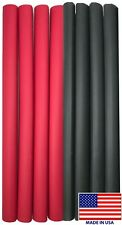 """(8) 12"""" Black Red Heat Shrink Tubing 3/4"""" Dual Wall Adhesive Glue Lined Wrap 3:1"""