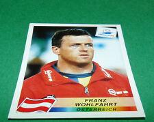 N°155 FRANZ WOHLFAHRT ÖSTERREICH PANINI FOOTBALL FRANCE 98 1998 COUPE MONDE WM