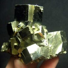 Golden Pyrite Cubic Crystal-prh12ic1438