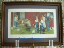Signed Rockwell Limited Edition Print, The County Agricultural Agent, Framed