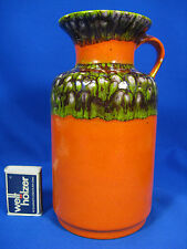 "70´s design JASBA "" Bunte Welt der Keramik"" pottery Keramik vase  N 602 1220"
