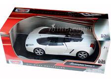 MOTORMAX 73365 LAMBORGHINI CONCEPT S 1/24 DIECAST WHITE