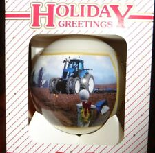 2006 New Holland TG Series Tractor Christmas Ornament