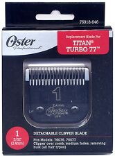 Genuine OSTER Diamox Blade Size 1 For 76 Turbo 77 Titan 76918-646 ANTIMICROBIAL