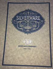 Gorham Silverware New York Upscale Retail Design Cover Graphic  Art 1923