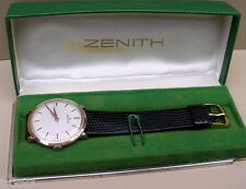 MONTRE ZENITH EN OR MASSIFANCIENNE DE COLLECTION VERS 1950