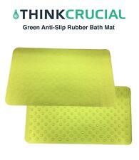 Replacement Non Slip Bath Mat AntiBacterial Deluxe Shower/Bath Mat, 16x28, Green