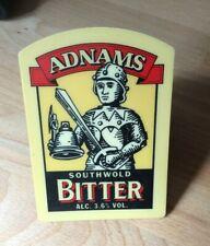 Adnams Southwold Bitter beer pump clip