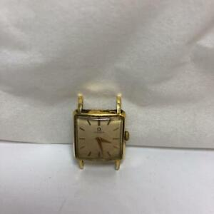 Antique OMEGA 20mm Square Hand Winding Watch Ladies