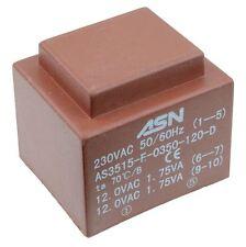 0-24v 0-24v 3.5va 230v ENCAPSULADO PCB Transformador