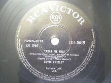 "ELVIS PRESLEY 781-0619 INDIA INDIAN RARE 78 RPM RECORD 10""  VG"