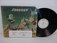 JOURNEY self-titled 1975 debut WHITE LABEL PROMO LP Columbia PC 33388