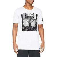 Nike Air Force 1 AF1 Drop Tail T-Shirt White Black 892334-100 Men's NWT