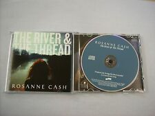 ROSANNE CASH - THE RIVER AND THE THREAD - CD EXCELLENT CONDITION 2014