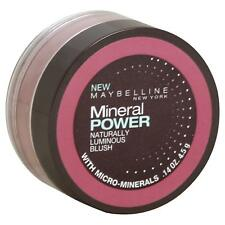 Maybelline Mineral Power Naturally Luminous Blush .14Oz/4.5G - Soft Mauve - New