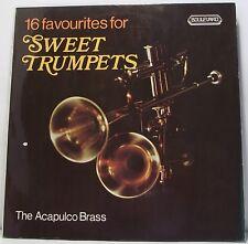 16 preferiti per dolci TROMBE: Acapulco in ottone album in vinile LP 33rpm In buonissima condizione