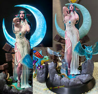 Windseeker WOW Tyrande Whisperwind 1/4 Model Led Painted EX Edtion Statue WD