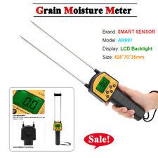 Smart Sensor Ar991 Digital Lcd Grain Moisture Meter For Wheat Corn Rice