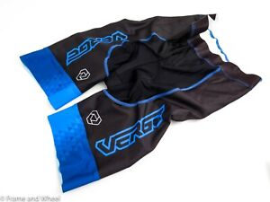 Verge Sport Exclusive Track Shorts Cycling Velodrome Men polyester blue