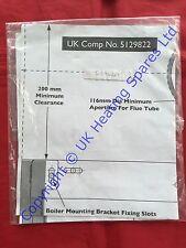 BAXI CALDAIA Combi 105he un modello di installazione di fissaggio a muro 5119469