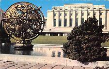 Br26414 Geneve palais de l Onu et la sphere armilaire offerte par la Foundation