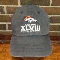 8a7860a8b7582 Super Bowl XLVIII New York New Jersey NFL Franchise Hat Cap 47 Brand ...