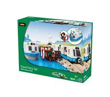 33725 BRIO Travel Ferry Set Railway Wooden Train Sets 18 Pcs Children 3+ Years