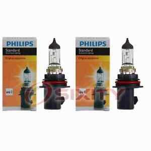 2 pc Philips 9007C1 Headlight Bulbs for 20551 31628 Electrical Lighting Body nx