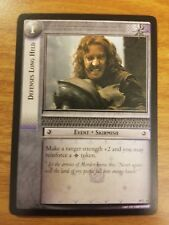 Lord of the Rings Tcg Treachery and Deceit 18C44 Defenses Long Held Lotr Ccg