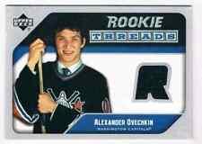 2005-06 UPPER DECK ROOKIE THREADS ALEXANDER OVECHKIN JERSEY 1 COLOR WASHINGTON