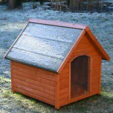 All Season Insulated Wooden Dog Kennel - 2 Sizes - See Chart